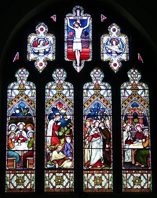 East Window, St. Leonard's, Cotheridge