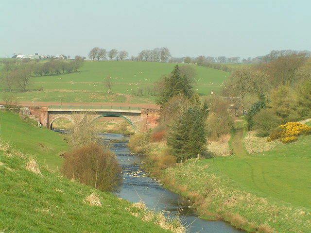 Broon's Brig from downstream
