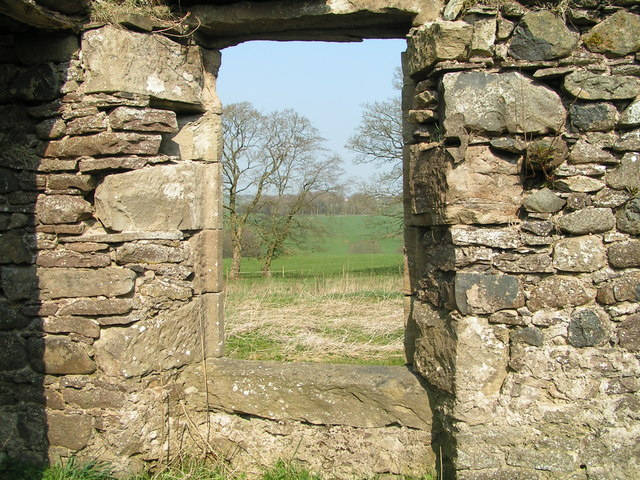 Window at the old Priestgill