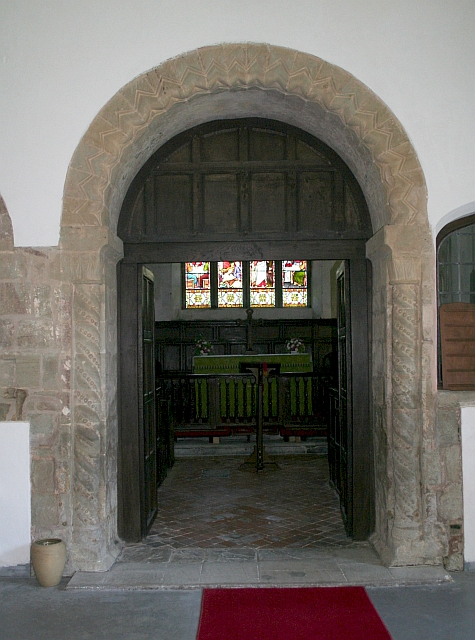 Archway from Nave to Chancel, St. Leonards, Cotheridge