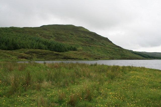 Ben Duagrich from Loch Duagrich