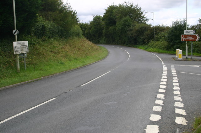 A39 at Shirwell Cross