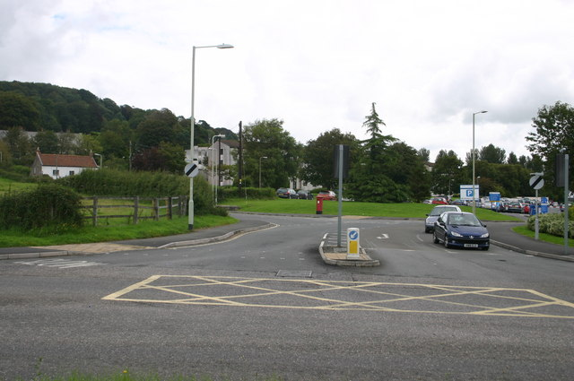 Entrance to the hospital at Barnstaple