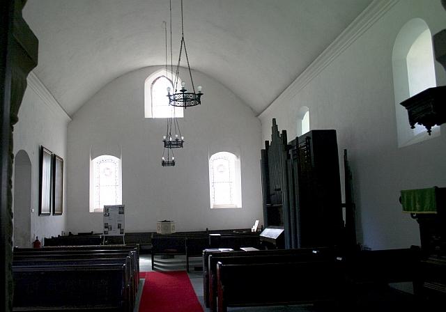 Nave of St. Leonard's , Cotheridge