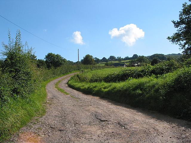 Entrance to Barrel Farm