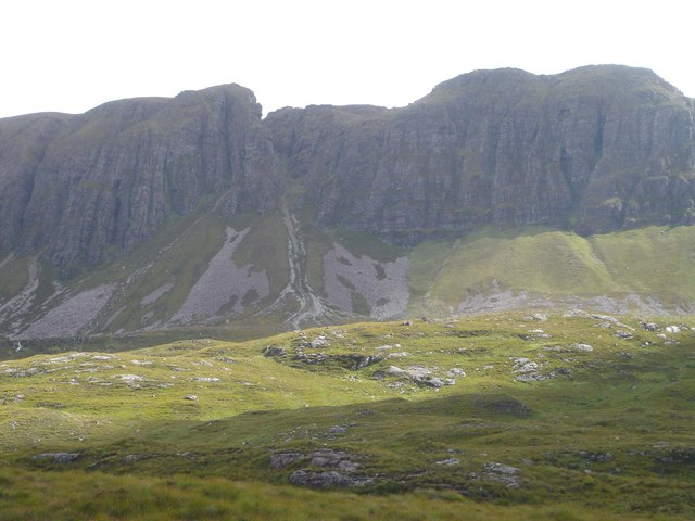 Glacially Sculpted Rocks west of Quinag