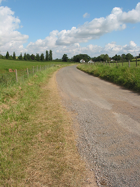 Country road near Aston Ingham