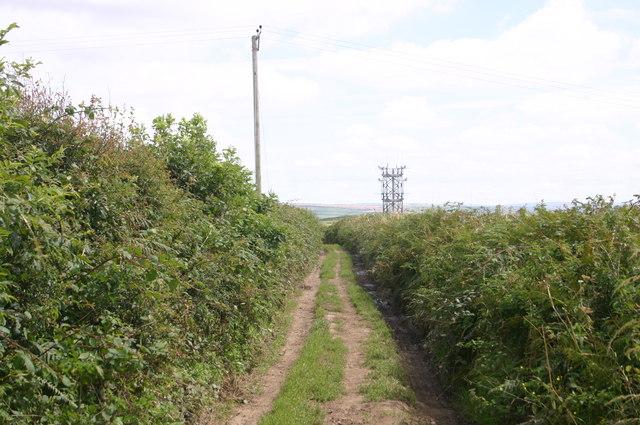 MOD mast on Long lane