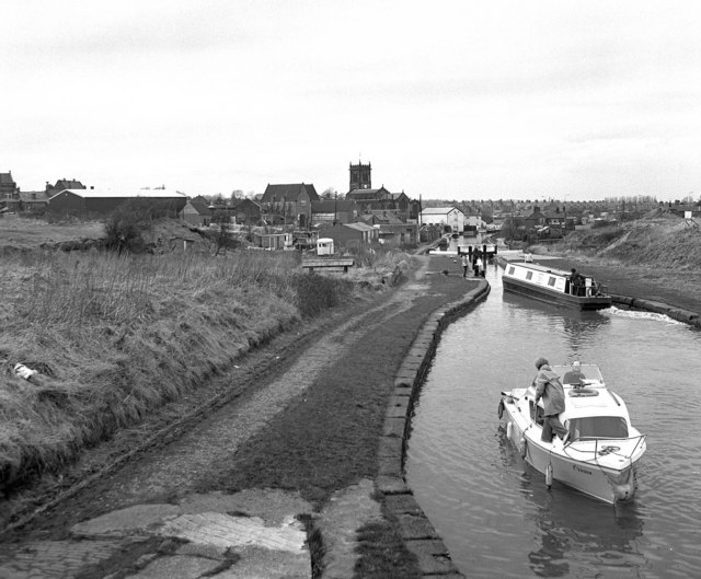 Lock No 74, Trent and Mersey Canal, Middlewich