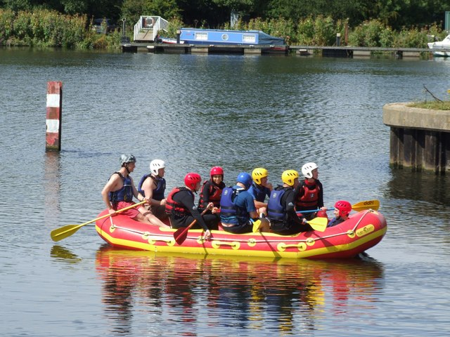 Rafting at Holme Pierrepont