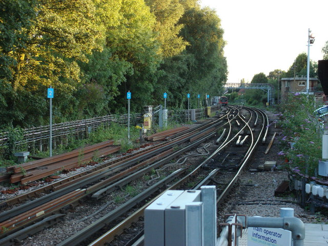 Railway line just south of Epping Station