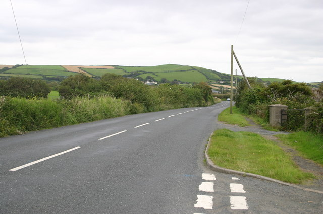 B3231 towards Braunton