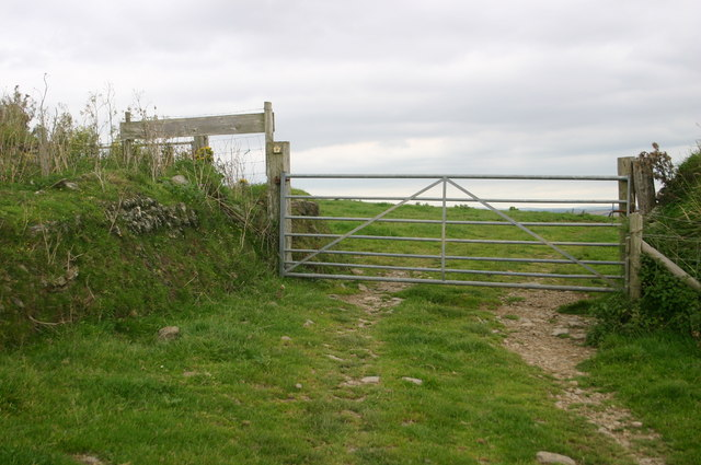 South West Coast path above Saunton