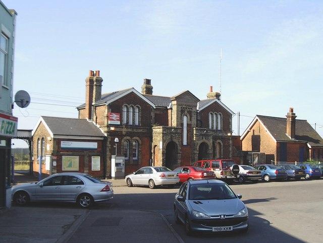 Dovercourt station