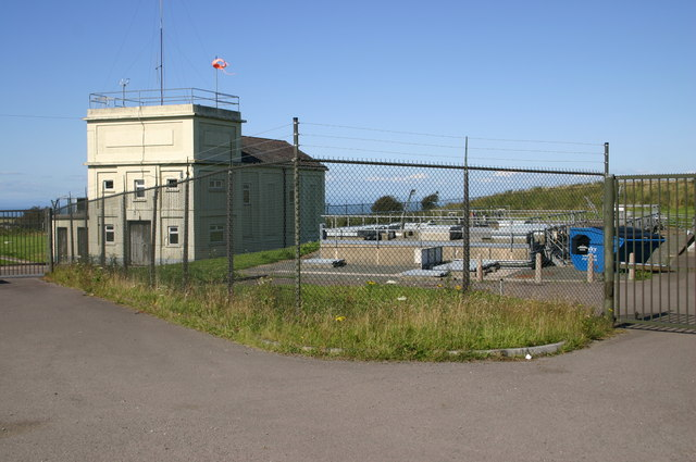 Water treatment works by the A3123