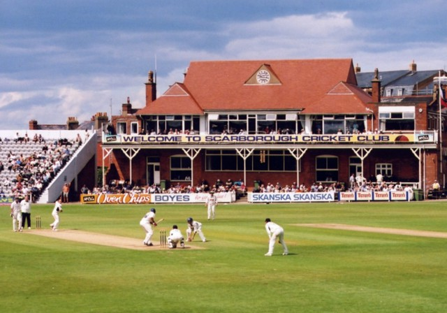 North Marine Road cricket ground, Scarborough.