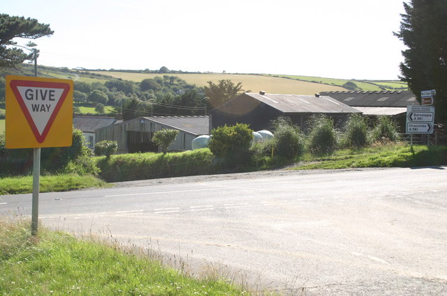 Dean Cross and Dean farm