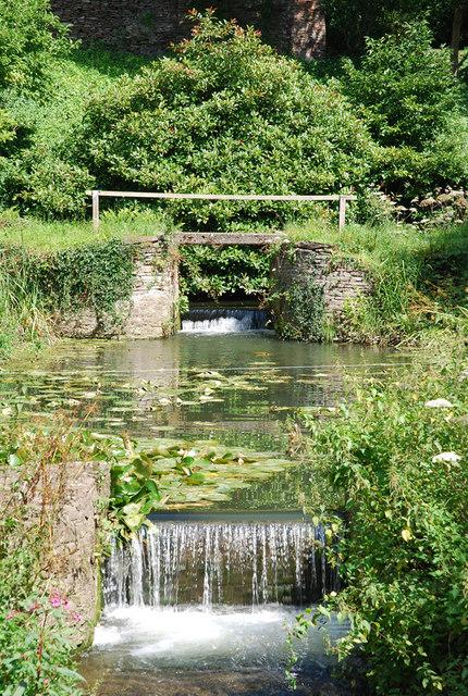 Old mill pond, Algars Manor