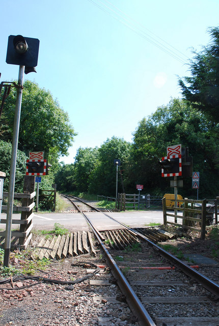 Level Crossing, Frome Valley Railway