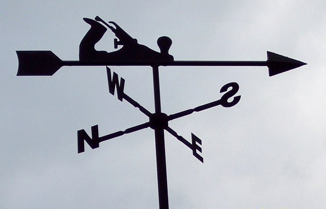 A Carpenters Weathervane