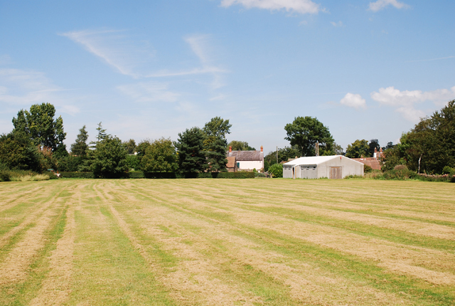 Iron Acton football field