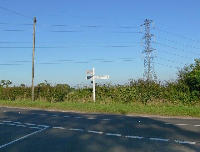 Leicester Road & Tilton Lane junction