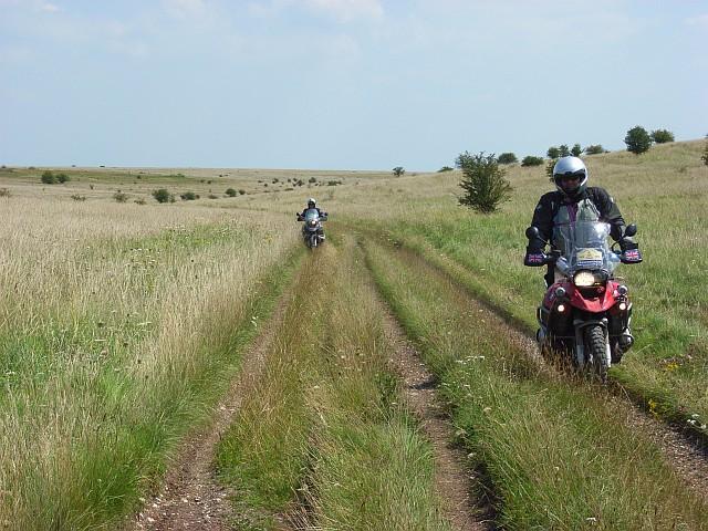 Off-roaders in Honeydown Bottom
