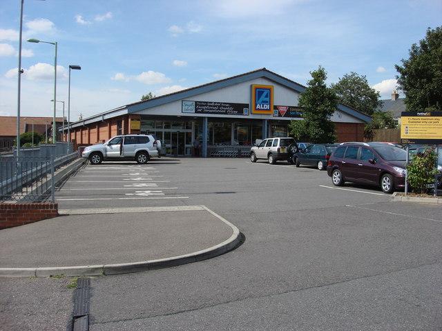 Aldi Supermarket, Sudbury