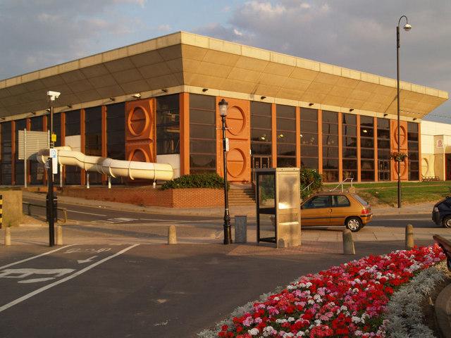 Leisure centre.