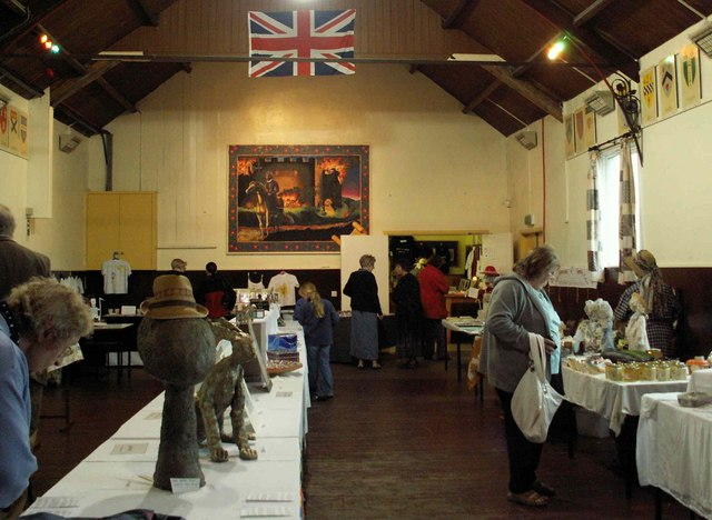 Art and craft exhibition at Roadhead Public Hall