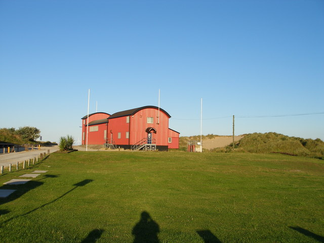The second of two lifeboat buildings