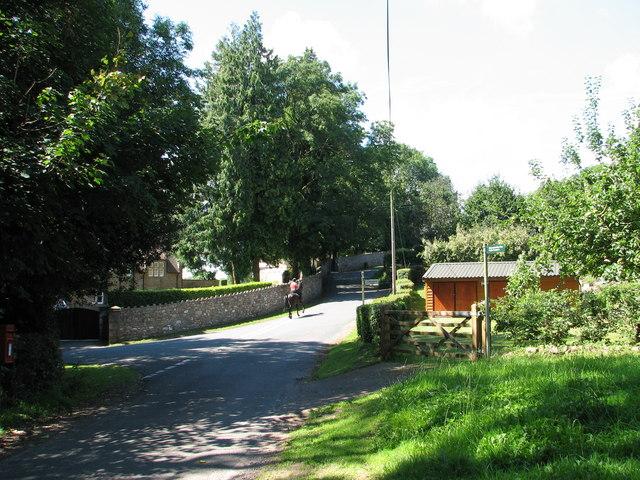 Road junction at Boughspring