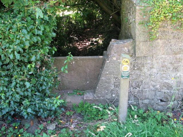 Stone stile near Wallhope Farm