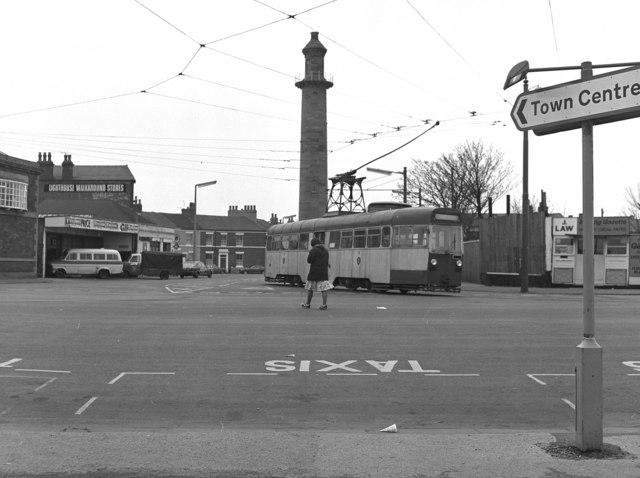 Tram in Fleetwood