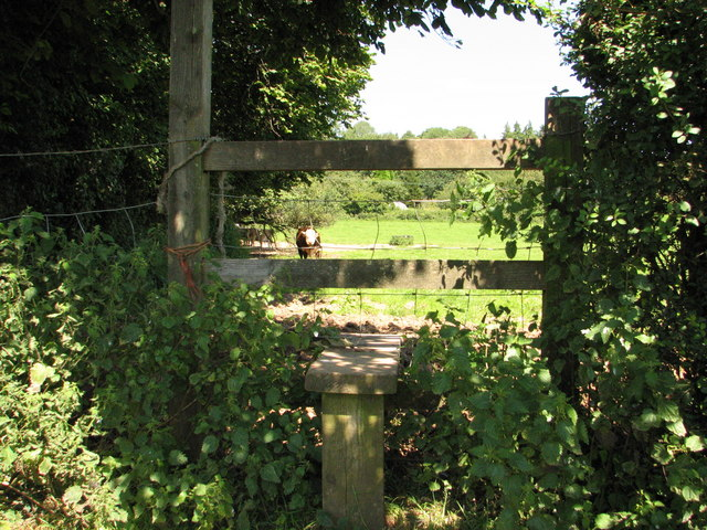 Stile on the Gloucestershire Way
