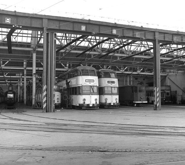 Tram depot, Rigby Road, Blackpool