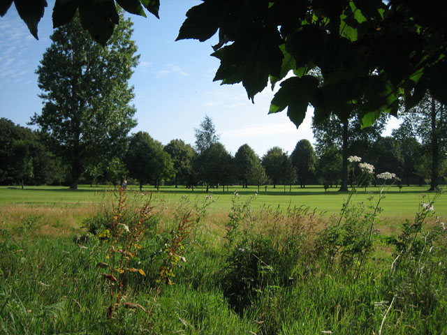 Golf course north of East Dereham