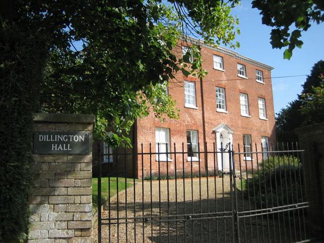 Dillington Hall - a grand house
