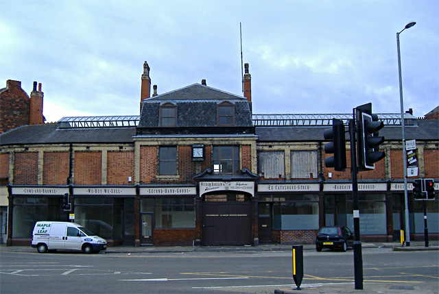 Former Annison's funeral directors building