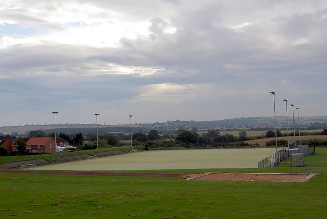 5 a side football pitches at Dorothy Hyman stadium.
