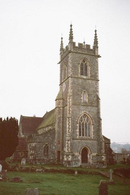 Shaftesbury: parish church of St. James