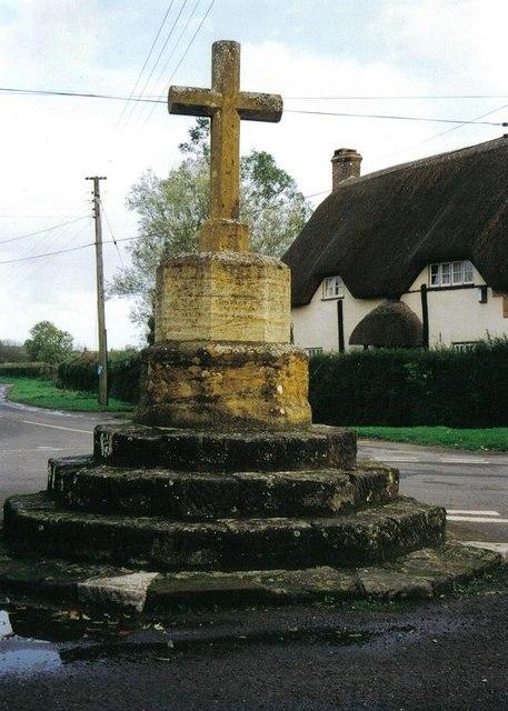 Shapwick: the cross