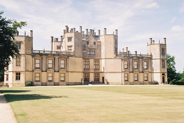Sherborne Castle: from the east