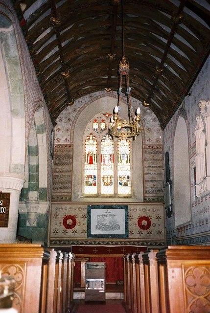 Silton parish church: interior