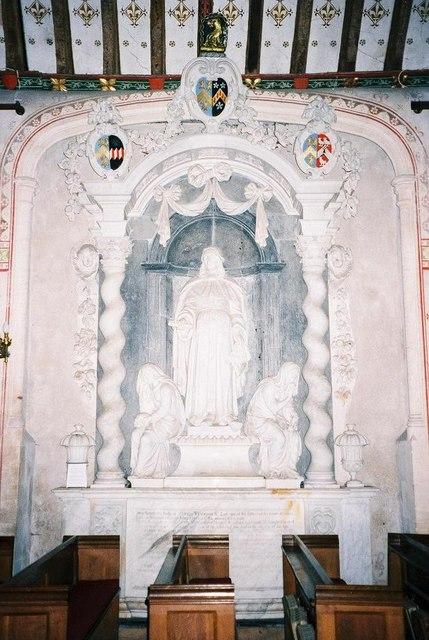 Silton parish church: Wyndham memorial