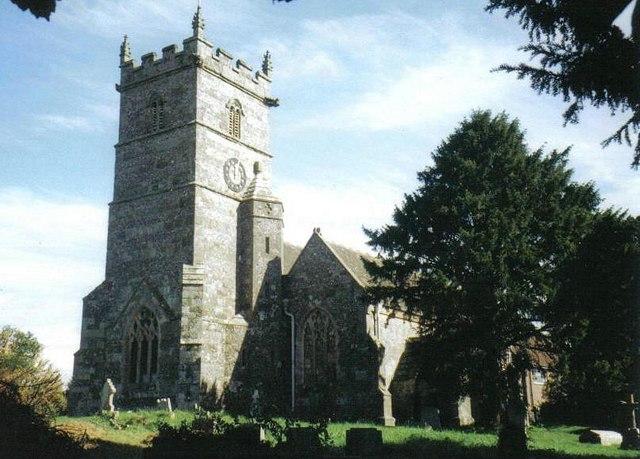 Sixpenny Handley: parish church of St. Mary