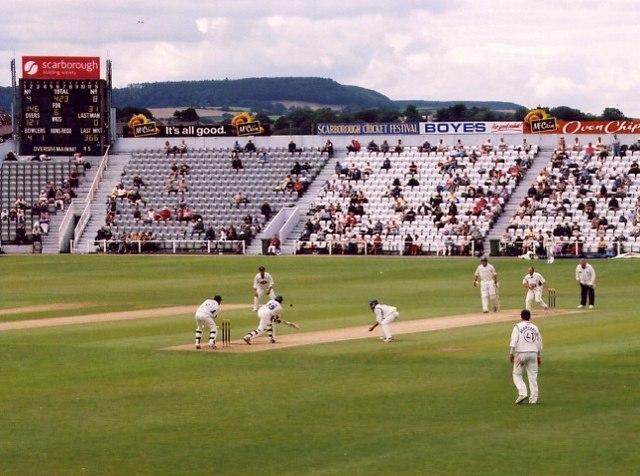 North Marine Road cricket ground, Scarborough.