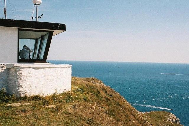 St. Aldhelm's Head: coastguard lookout