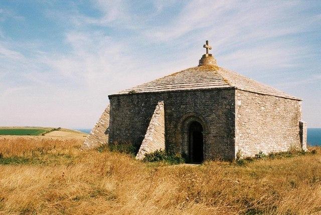 St. Aldhelm's Head: St. Aldhelm's chapel