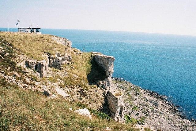 St. Aldhelm's Head: cliffs